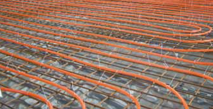 Comfort Heating And Cooling Web - Types of in floor heating systems