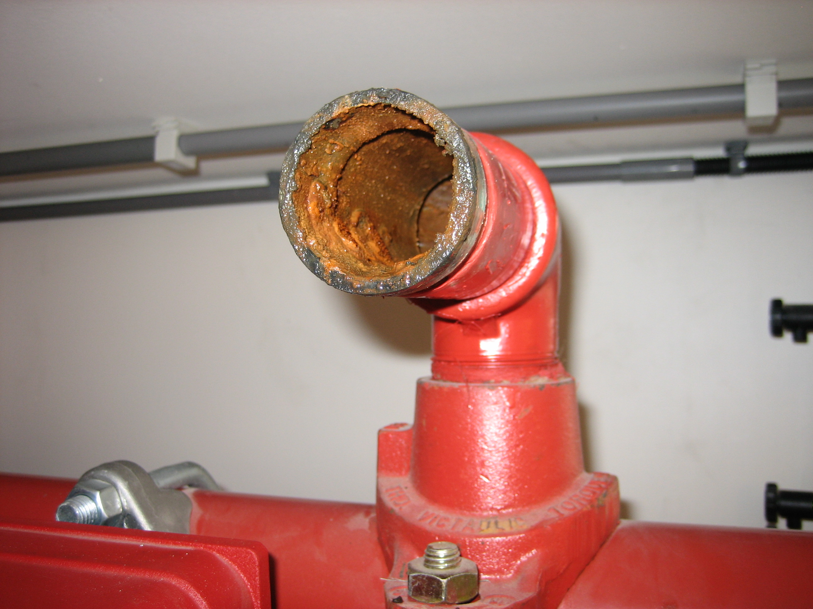 Sprinkler Pipe System Web