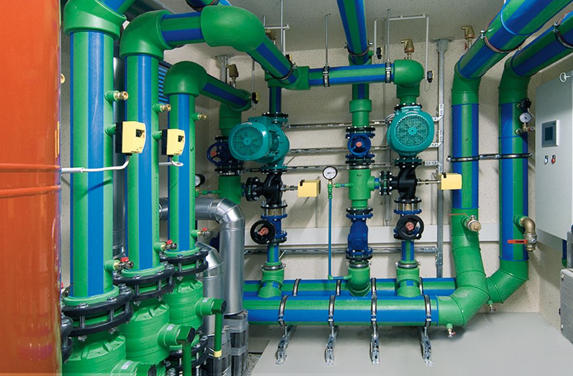 Non Potable Water Mechanical Web